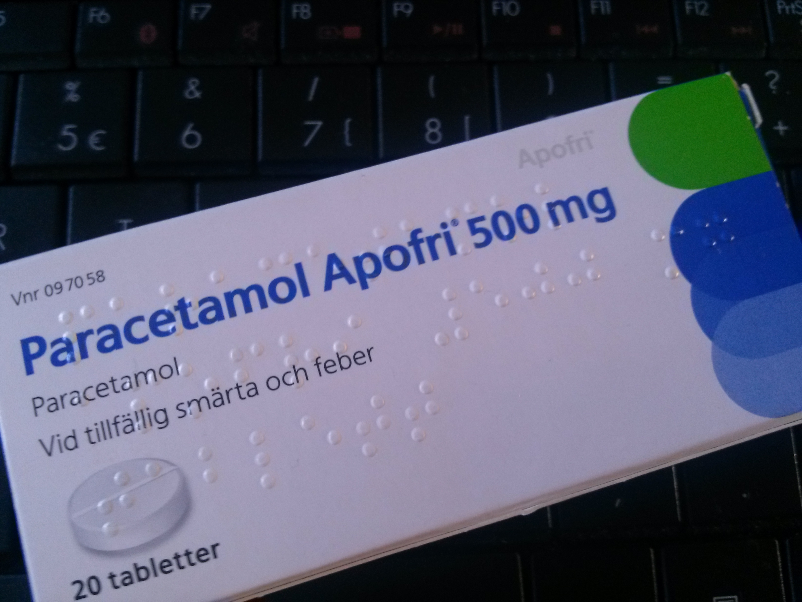 kan man ta tvГҐ alvedon 500 mg