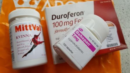 b12 järn tabletter